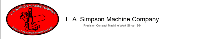 L.A. Simpson machine Company